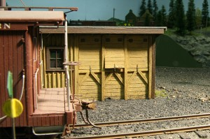 Caboose coal shed